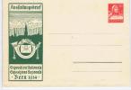 Switserland: 25c Helvetia Ausstellungsbrief Exposition Nationale Bern Letter Sheet 1914 Bern, Unused
