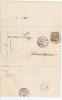 Switserland: Folded Cover , Circular, Bern -> Diemtigen + Cancel Oey - 1882-1906 Armarios, Helvetia De Pie & UPU