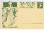 Switserland: Postcard 1909 Unused - 1882-1906 Armarios, Helvetia De Pie & UPU