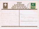 Switserland: Postcard 1929 With Stamp, Zwei Knaben Hissen Banner