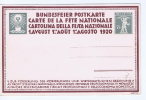 Switserland: Postcard 1920 Unused, Le Labour - 1882-1906 Armarios, Helvetia De Pie & UPU