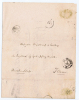 Switserland: Cover / Letter 1860, Constanz / Basel - Zwitserland