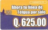 TARJETA DE GUATEMALA DE NUEVA LINEA TELGUA - Guatemala