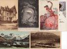 Lot De 64 Cpa Et Cpsm : Majorité France ( Deauville Besançon Grenoble ) Fantaisie + Suisse + Allemagne + Autriche - Cartes Postales