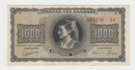 Greece 1000 Drachmai 1942 VF++ P 118 - Greece