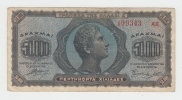 Greece 50,000 50000 Drachmai 1944 VF Banknote P 124 - Greece