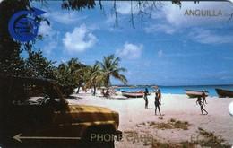 *ANGUILLA - 1CAGB* - Scheda Usata - Anguilla