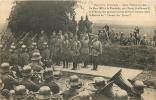 02 LA TOMBELLE PRES DE MARLE MARS 1918 GUILLAUME II ET LE KRONPRINZ PASSANT EN REVUE LEURS TROUPES  AVANT L'OFFENSIVE - Unclassified