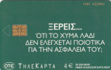 GREECE - Sevitel 3/Olive Oil, Tirage 35000, 06/05, Used - Griechenland