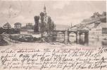 GRUSS AUS BAD KREUZNACH  NAHEBRUDE KAUZENBERG   1899 - Bad Kreuznach