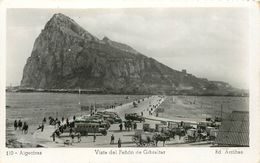 Espagne - Autobus - Andalucia - Cadiz - Algeciras - Vista Del Penon De Gibraltar - état - Semi Moderne Petit Format - Cádiz