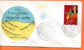 """Maroc,,morocco, FDC,1976,N°779 """" 1er Anniversaire De La Marche Verte """" - Maroc (1956-...)"""