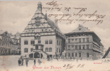 B29104 Gruss Aus Plauen Rathaus Used Perfect Shape - Plauen