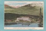 CHATEAU LAKE LOUISE .  ROCKY MOUNTAINS.  - 1949  -  CARTE LETTRE - Lac Louise