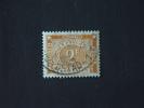 Belgisch Congo Belge 1943 Strafport Tax T: 14 X 14 1/2  Yv 76 COB TX77A O - Portomarken: Gebraucht