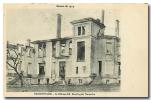 54562 BADONVILLER GUERRE DE 1914  LE CHATEAU ED FENAL APRES L INCENDIE CLICHE No 1 - Non Classés