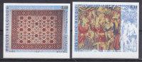 Belgi�-Turkije, nr 3413/3414 **, tapijt tapis, ongetand-non dentelee (B006)