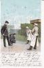 PARIS PITTORESQUE TELEGRAPHISTES ET PATISSIERS (JOUEURS DE BILLES) 1901 - Petits Métiers à Paris