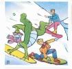 Autocollant - DENVER Au Ski - N° 7  Vache Grosjean - 1988 - TBE - Books, Magazines, Comics