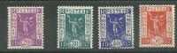 "France** Y&T N° 322 à 325 ""Exposition Internationale 1937"" - France"