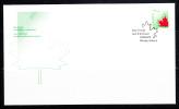 Canada FDC Scott #1696 45c Stylized Maple Leaf - Imperf Definitive - Premiers Jours (FDC)