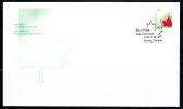 Canada FDC Scott #1699 46c Stylized Maple Leaf - Imperf Definitive - Premiers Jours (FDC)