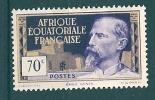 A.E.F. ...1937...Michel # 46...MLH. - A.E.F. (1936-1958)