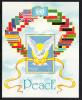 Palau Scott #292 MNH Souvenir Sheet $2.90 Peace - Operation Desert Shield/Storm - Palau