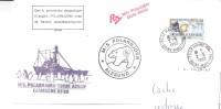 6440  POLARBJORN - TERRE ADELIE - ESCALE à LE HAVRE - SEINE MARITIME - Cartas