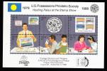 Palau Scott #197 MNH Sheetlet Of 6 45c Praga '88 - Palau