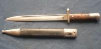 Baïonnette Allemande Modèle 1871/84 Avec Fourreau.Fabrication Privée. - Armi Bianche