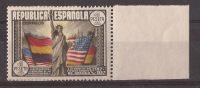 ES763SGDEV-L3724TARM.España   Spain Espagne  CONSTITUCION USA 1938 (Ed 763**)sin Charnela.MAGNIFICA BORDE DE HOJA - Monumentos