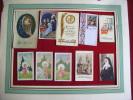 Image Pieuse Lot De 10 --chromo Mater Dolorosa-aulard--ejp 0-412-0-406-0-409-kls -24-a 2-carillonvermare - Images Religieuses