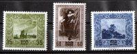 Liechenstein 1954 Surcharges Set Of 3 MH  SG 324-326 - Liechtenstein