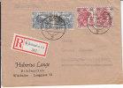Nr 46 II (2), 40 II (2) Op Brief Van Wiesbaden Naar Tailfingen (X02525) - Zone Anglo-Américaine