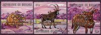 Burundi 1971 Ovpr. Jeux Pre-Olympiques  +1F Animals Fauna - 1970-79: Nuovi