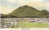 Kawerau New Zealand, , On C1940s(?) Vintage Colored Photograph - Places