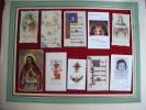 Image Pieuse Lot De 10- Sta Agnes-bonamy-mappus-st Louis---josefina Vilaseca-etc... - Images Religieuses