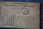 14e SMA 33e CIE SP 66 P/PARIS  8 GUERRE 14/18  CARTE FRANCHISE MILITAIRE CORRESPONDANCE ARMEES REPUBLIQUE - Marcophilie (Lettres)