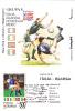 1994 USA, World Cup,Football,soccer,CM,maxicard,cartes Maximum Match;Italia - Irlanda. - World Cup