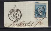 Timbre N°22- GC 532 - 1862 Napoléon III.