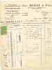 LIEGE - Facture + Reçu  Jos. Herzé Et Fils - Sanitaires, Toitures,... 1940 (sf30) - België