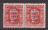 ES741-L3988.España.Spain.  Espagne. VUELO MANILA-MADRID.Francisco Rein Loring.1936 (Ed 741** Par) .LUJO - 1931-50 Nuevos & Fijasellos