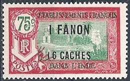 FRANCE INDIA..1927..Michel # 79...MLH. - India (1892-1954)