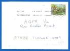 Timbre Sur Lettre (6989) - Marcophilie (Lettres)