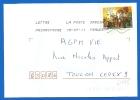 Timbre Sur Lettre (6995) - Marcophilie (Lettres)
