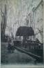 Barjols 1906 - Fontaine De La Place De L´Hôtel De Ville - Enfants 1er Plan + Blanchisseuse 2nd Plan - Barjols