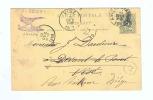799/17 -  BELGIQUE PAON - Entier Postal Vers VISE Et Réexpédié - Cachet Illustré Paon Osw. Segers - Paons