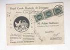 802/17 -  BELGIQUE POULES Et OEUFS - Carte Illustrée 1927 Cercle Horticole De JEMAPPES - Ferme De BAUDOUR - Farm