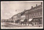 Croatia 1933 Daruvar - Jelaciceva Ulica - Postcard To Pardubice Czechoslovakia - Croatia
